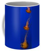 Pacific Sea Nettles In A Row Coffee Mug