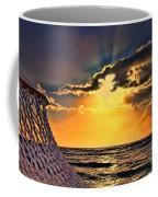 Pacific Sunset By Diana Sainz Coffee Mug