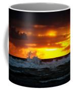Pacific Sunset Drama Coffee Mug