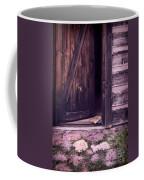 Package By Open Front Door Coffee Mug