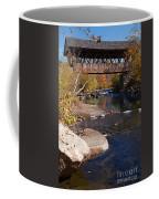Packard Hill Bridge Lebanon New Hampshire Coffee Mug by Edward Fielding