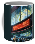 Packard Motor Car - Ask The Man Who Owns One - 1937 Coffee Mug