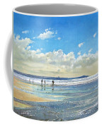 Paddling At The Edge Coffee Mug