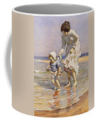 Paddling Coffee Mug by William Kay Blacklock