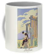 Paestum Coffee Mug by Georges Barbier