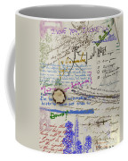 Page From The Madwoman's Notebook Coffee Mug