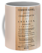 Paine: Common Sense, 1776 Coffee Mug by Granger