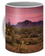 Paint It Pink Sunset  Coffee Mug by Saija  Lehtonen