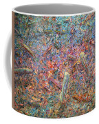 Paint Number 37 Coffee Mug by James W Johnson