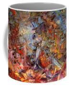 Paint Number 43a Coffee Mug by James W Johnson