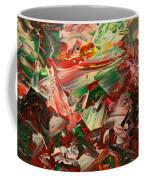 Paint Number 48 Coffee Mug by James W Johnson