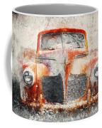 Painted 1940 Desoto Deluxe Coffee Mug