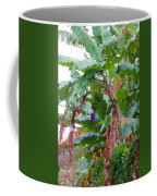 Painted Banana Plant Coffee Mug