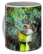 Painted Bullfinch S1 Coffee Mug