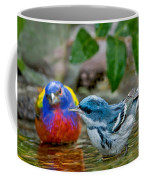 Painted Bunting & Cerulean Warbler Coffee Mug