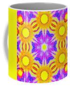Painted Cymatics 161.66hz Coffee Mug