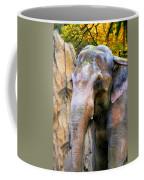 Painted Elephant Coffee Mug