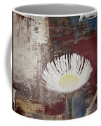 Painted Flower Coffee Mug