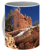 Painted Hand Pueblo Coffee Mug