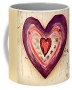 Painted Heart Coffee Mug