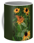 Painted Lady With Friends Coffee Mug