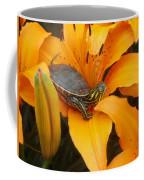 Painted Lilly Coffee Mug