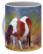 Painted Marsh Mare Coffee Mug
