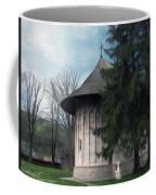 Painted Monastery Coffee Mug