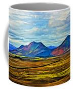 Painted Mountain Coffee Mug