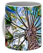 Painted Palms Coffee Mug