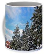 Painted Pines Coffee Mug