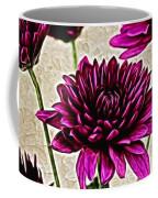 Painted Pink Bouquet Coffee Mug
