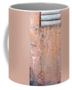 Painted Pink Concrete Coffee Mug