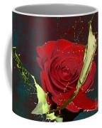 Painted Rose Coffee Mug by M Montoya Alicea