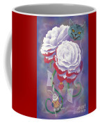 Painted Roses For Wonderland's Heartless Queen Coffee Mug