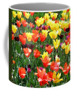 Painted Sunlit Tulips Coffee Mug