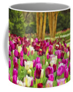Painted Tulips Coffee Mug