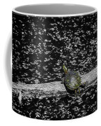 Painted Turtle In A Monochrome World Coffee Mug
