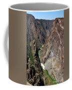 Painted Wall Black Canyon Of The Gunnison Coffee Mug