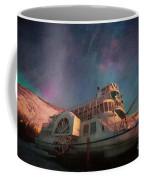 Painterly Northern Lights Coffee Mug