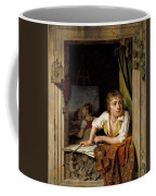 Painting And Music. Portrait Of The Artists Son Coffee Mug