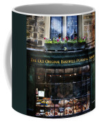 Can You See The Ghost In The Top Window At The Old Original Bakewell Pudding Shop Coffee Mug