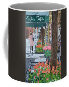Painting The New York Street Coffee Mug