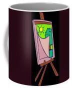 Painting Veil Canvas Coffee Mug
