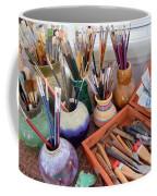 Painting Work Table Coffee Mug