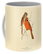 Pair Of Cardinals Coffee Mug