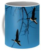 Pair Of Geese Coffee Mug