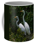 Pair Of Herons Coffee Mug