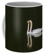Pair Of Mute Swans Coffee Mug