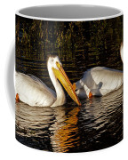 Pair Of Pelicans   #6935 Coffee Mug